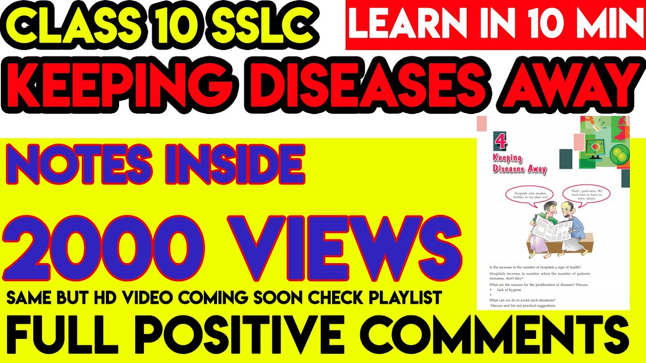 Keeping diseases away | crash learn