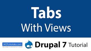Drupal 7 - So Erstellen Sie Registerkarten Mit Blick Auf