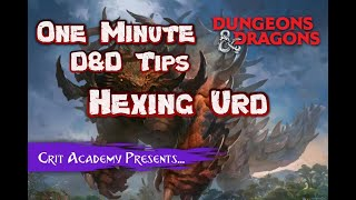 Monster: Hexing Urd | Dungeons and Dragons