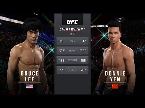 Bruce Lee Vs Donnie Yen EA Sports UFC 2