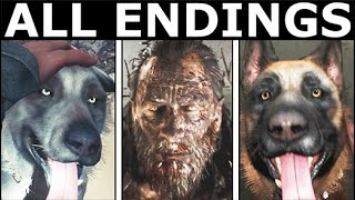 Blair Witch ALL ENDINGS - Bad, Good & Secret Ending + All Final Outcomes (Horror Game)