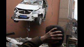 Прикольные картинки Странные автомобильнеы аварии