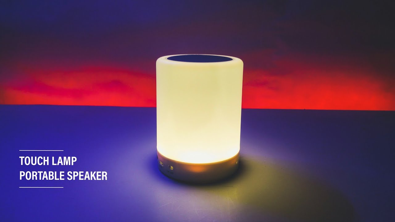 Touch Lamp Portable Speaker Cl 671 Youtube