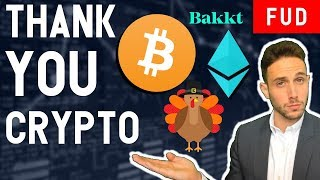 A VERY BITCOIN THANKSGIVING! Reflecting on the last year in crypto...