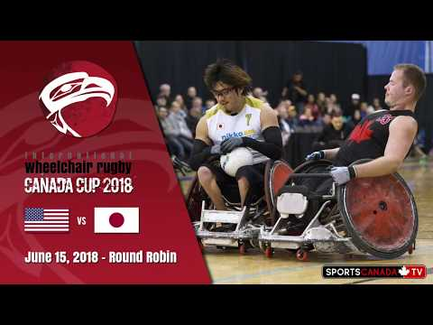 2018 wheelchair rugby canada cup usa vs japan june 15 youtube. Black Bedroom Furniture Sets. Home Design Ideas
