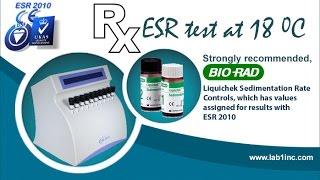 Erythrocyte Sedimentation Rate Analyzer: ESR 2010
