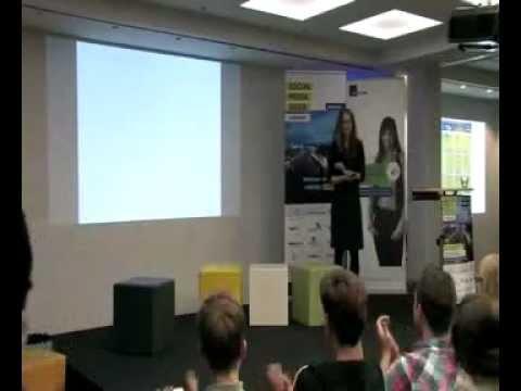 Die dgroup auf der Social Media Week Hamburg 2013 - Keynote Susann Liedtke - BonPrix