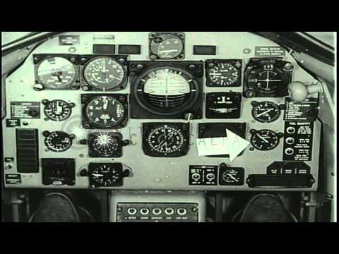 Pre-flight procedures including exterior and cockpit inspection of the US Navy T2...HD Stock Footage