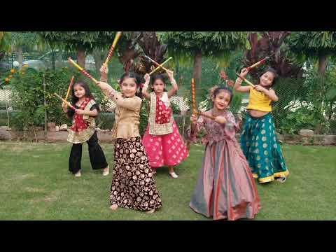 DANDIYA Dance Cover Kamariya By HEAVEN OF ARTS DANCE N FITNESS STUDIO