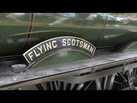 Flying Scotsman.   4 Times at King's Cross.