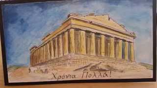Drawing the Parthenon