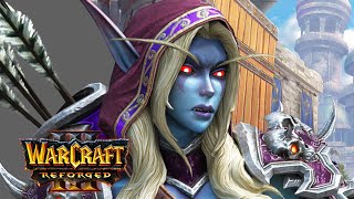 Sylvanas Conquers Lordaeron - Rise of Forsaken - All Cutscenes [Warcraft 3: Frozen Throne]