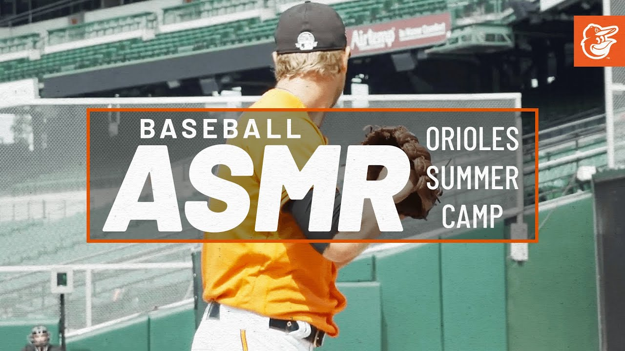 Baseball ASMR: Sights & Sounds from Orioles Summer Camp 2020, Wk 1