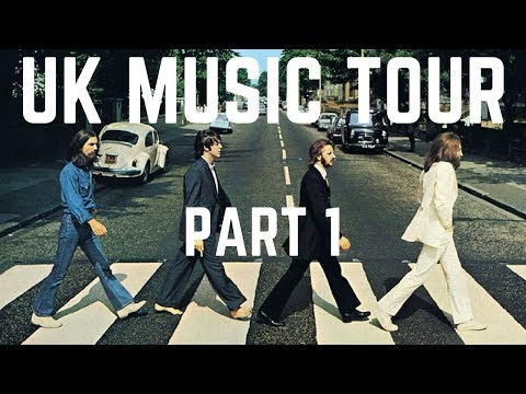 LONDON MUSIC TOUR PART 1 | THE BEATLES ABBEY ROAD | FREE THINGS TO DO IN LONDON