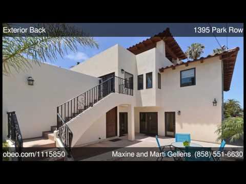 1395 Park Row La Jolla CA 92037 - Maxine and Marti Gellens
