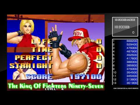 Let's play THE KING OF FIGHTERS '97 (PS4)