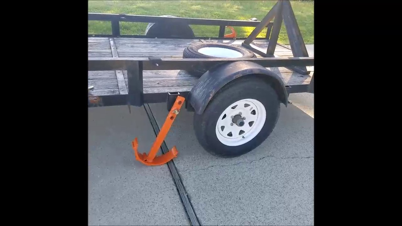 How to change a trailer tire in 5 minutes with Ready Jack