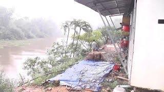 Sạt lở bờ sông nghiêm trọng đe dọa cuộc sống người dân Triệu Phong, Quảng Trị