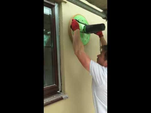 Lime render power sponge float