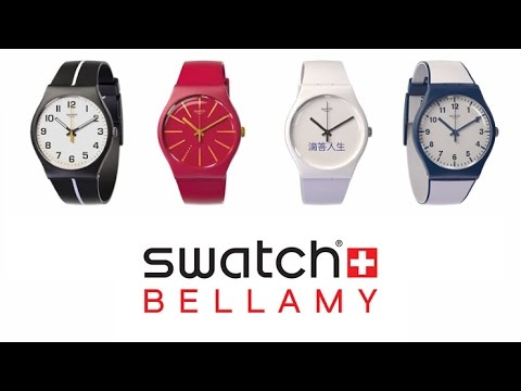 Best Contactless Payment Watch In The World Swatch Bellamy