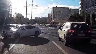 придурки за рулем приколы на дороге 2017 7
