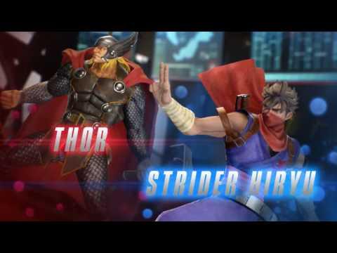 Marvel vs. Capcom Infinite ganha trailer com gameplay de vários personagens