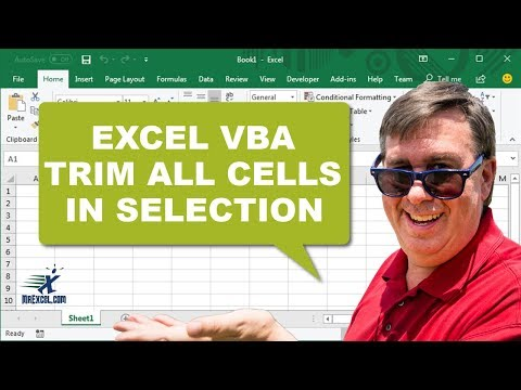 Powerful Excel VBA Macro to TRIM Selection - 2268