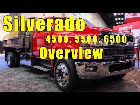 2019 Chevrolet Silverado 4500, 5500, 6500 Medium Duty Truck. Full overview