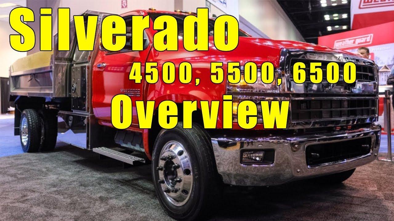 2019 Chevrolet Silverado 4500, 5500, 6500 Medium Duty Truck  Full overview