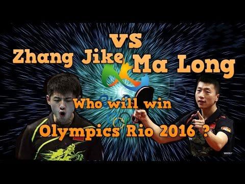 Zhang Jike vs Ma Long - Who will win Olympics Rio 2016?