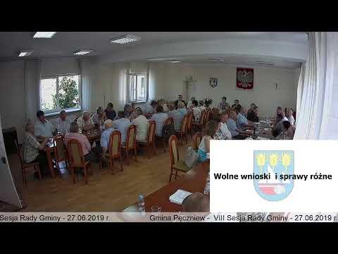 Gmina Pęczniew – VIII Sesja Rady Gminy Pęczniew