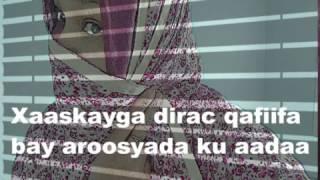 Xaaskayga dirac qafiifa bay aroosyada ku aadaa ila tali sheekh!