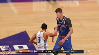 NBA LIVE 18: Knicks vs Kings