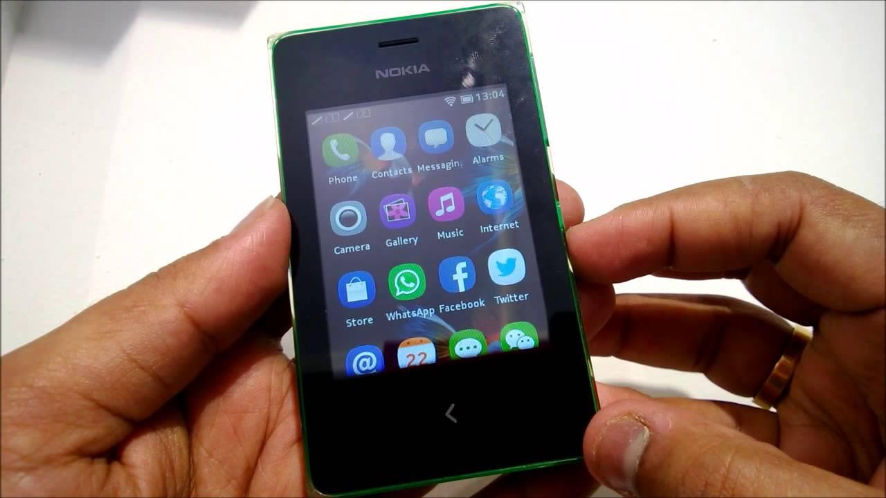 Nokia asha 500 app store