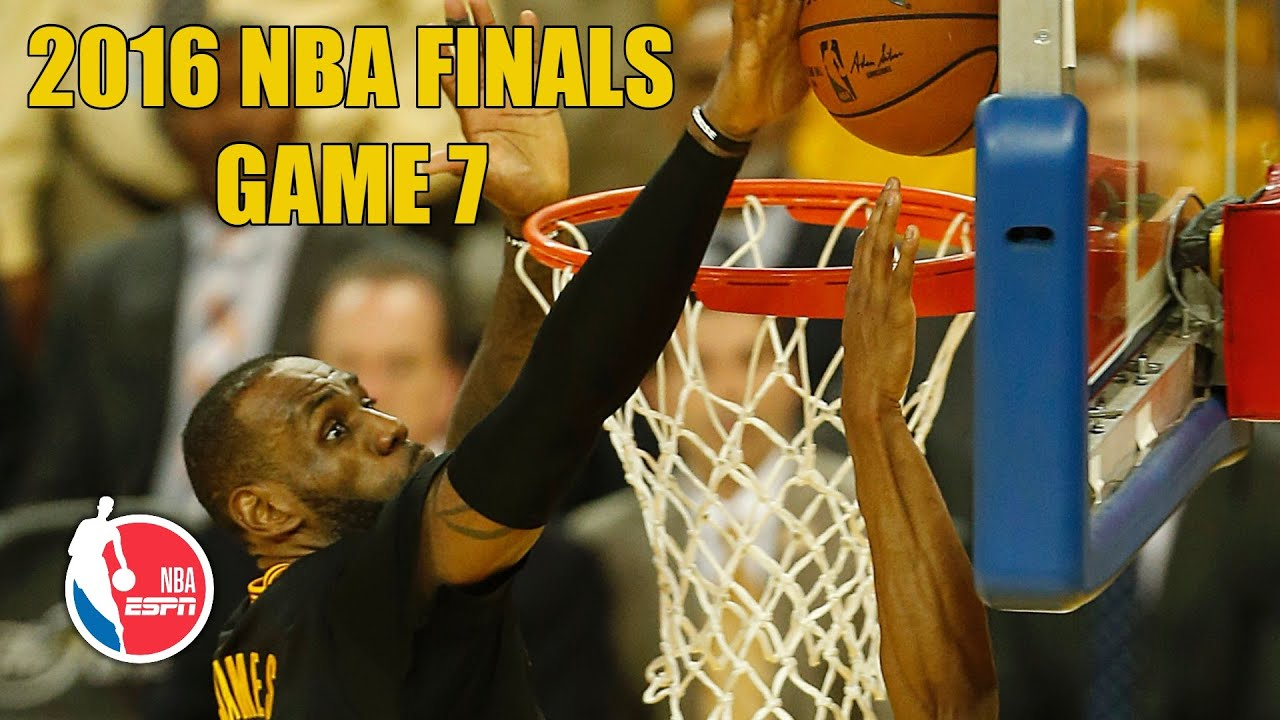 Download [FULL GAME] Cleveland Cavaliers vs. Golden State Warriors   2016 NBA Finals Game 7   NBA on ESPN