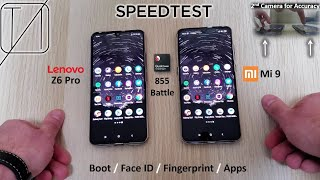 Lenovo Z6 Pro Vs Xiaomi Mi 9 Speed Test