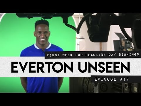 EVERTON UNSEEN #17: FIRST WEEK FOR DEADLINE DAY SIGNINGS!