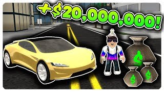 HOW I MADE $20,000,000 ON VEHICLE SIMULATOR | Roblox