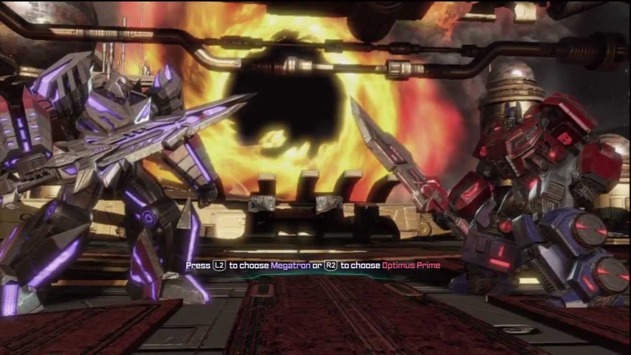 transformers fall of cybertron hd final battle megatron ending