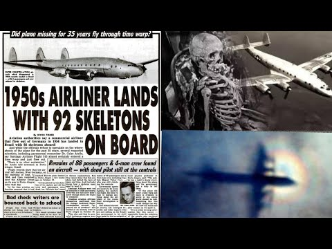 The Missing 1954 Flight513 The Plane That Lands After 35 Years With Subtitles Incredible Crimes Youtube