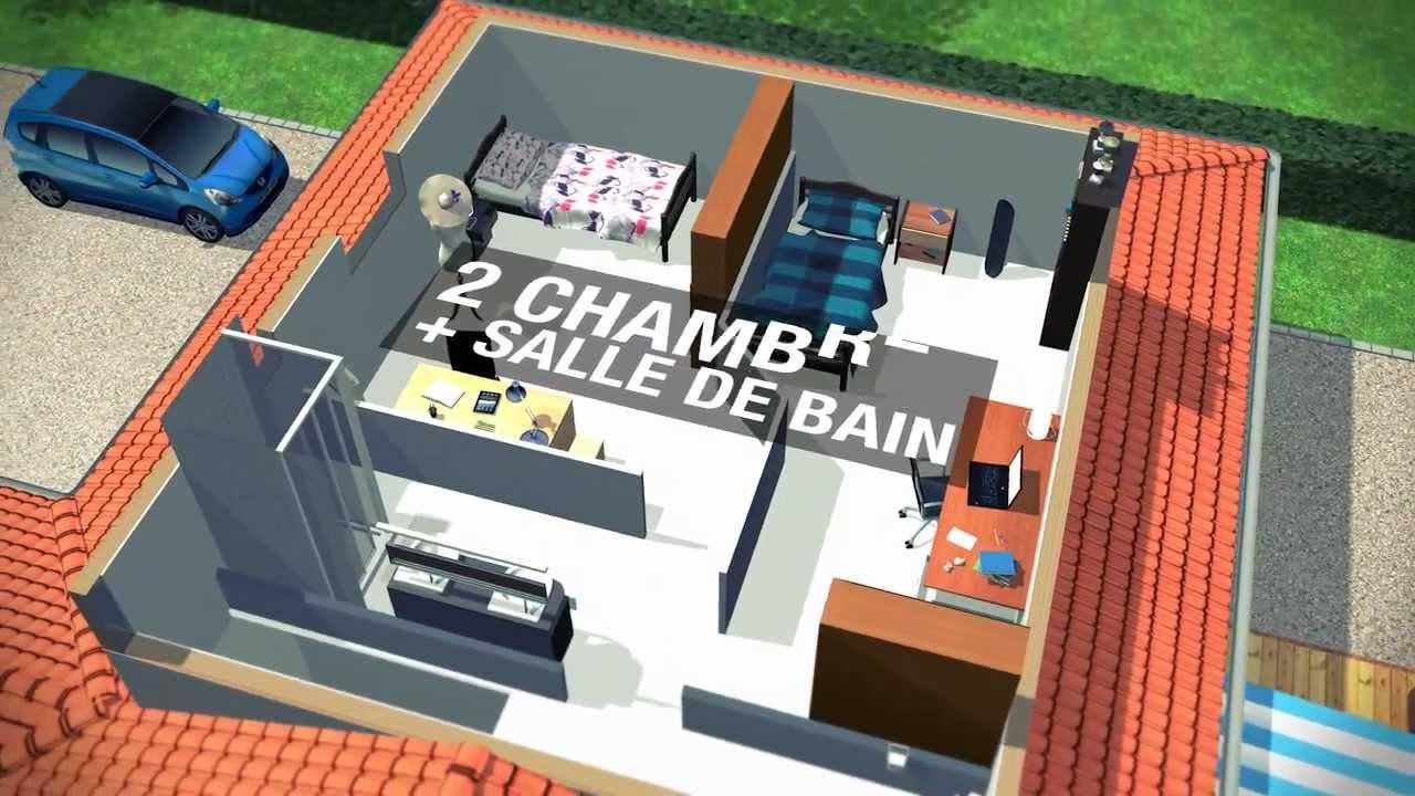 Agrandir sa maison avec la sur l vation de toiture youtube for Rehausser sa maison prix