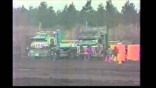 第一回・全日本ダンプカーレース(準決勝第1) / '85 Japan dump truck race ( Semi-final First race )