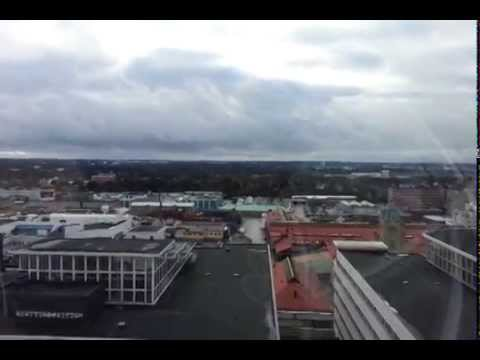View from SkyView - Stockholm Globe Arenas