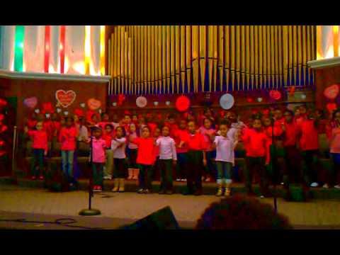 Joshua Academy first grade class 2011