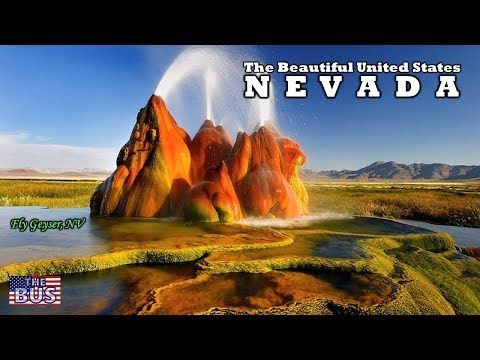 USA Nevada State Symbols/Beautiful Places/Song HOME MEANS NEVADA w/lyrics