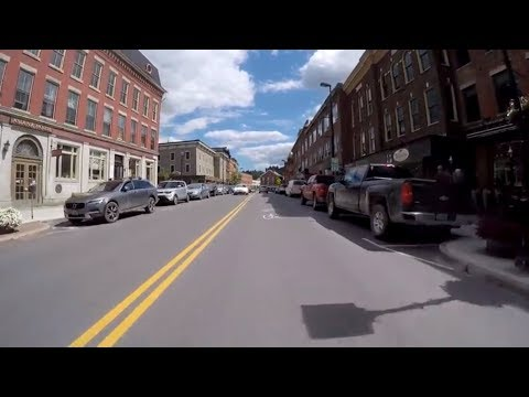 ▶️ Driving Downtown Montpelier Vermont