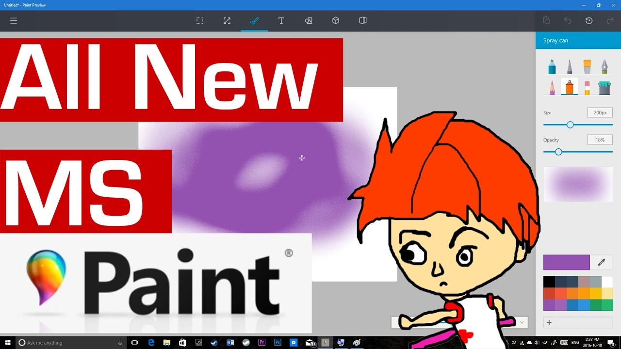 How do I install an updated version of Paint