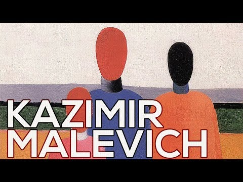 Kazimir Malevich: A collection of 191 works (HD)