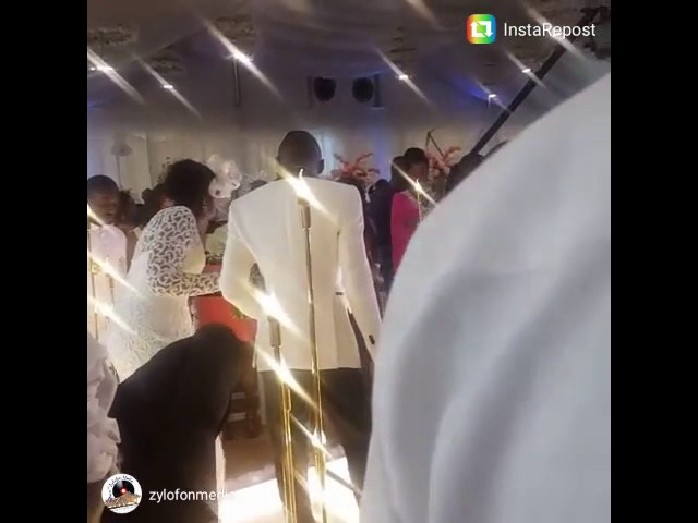 Stonebwoy wedding