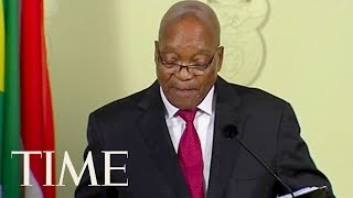 "South African President Jacob Zuma Resigns ""With Immediate Effect"" 